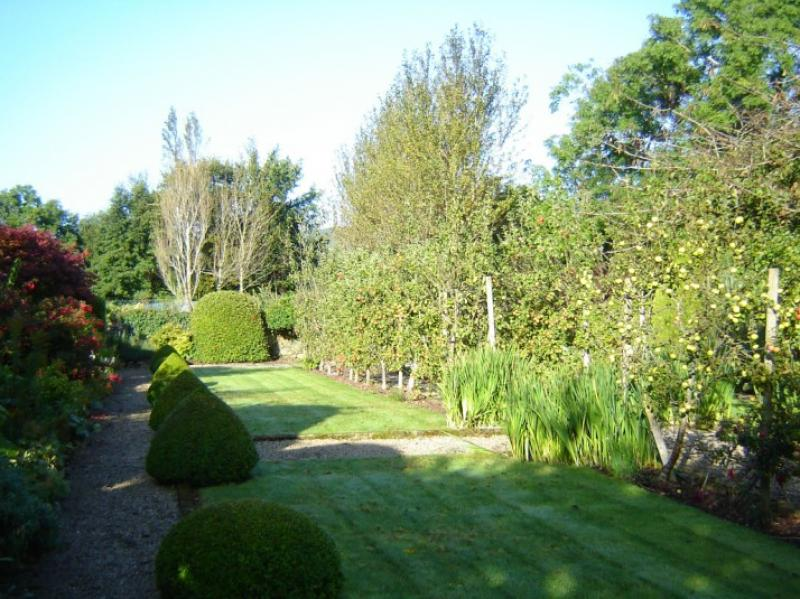 Landscape Maintenance Walled Fruit Garden Wicklow